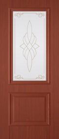 Изображение Дуэт Итальянский орех стекло художественное