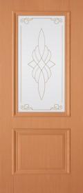 Изображение Дуэт Миланский орех стекло художественное