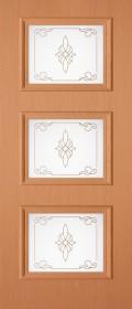 Изображение Квадро Миланский орех стекло художественное