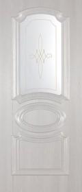 Изображение Марсель ПГ Беленый дуб стекло художественное