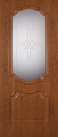 Изображение Пальмира Орех светлый стекло художественное
