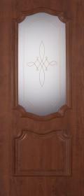Изображение Пальмира Орех темный стекло художественное
