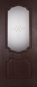 Изображение Пальмира Венге черный стекло художественное