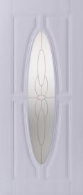 Изображение Орбита Белый стекло художественное