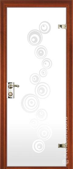 Межкомнатная стеклянная дверь «Серия Витро тип 400П3»