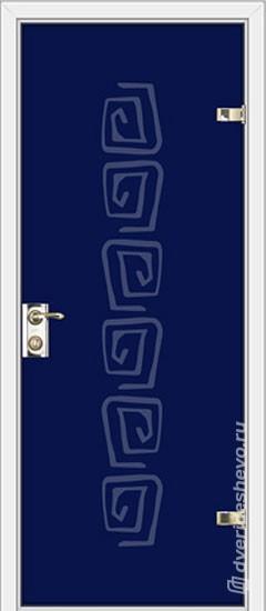 Межкомнатная стеклянная дверь «Серия Витро тип 400П6»