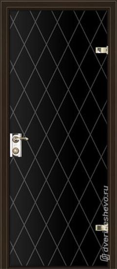 Межкомнатная стеклянная дверь «Серия Витро тип 400П11»
