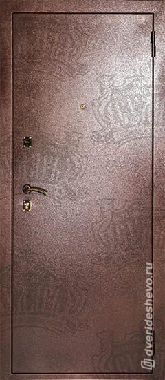 Входная дверь «Дива МД 01» медь