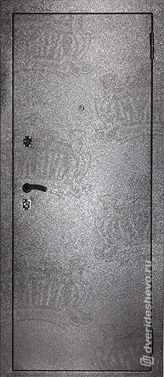 Входная дверь «Дива МД 01» серебро
