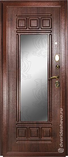 Входная дверь «Дива МД 03» зеркало