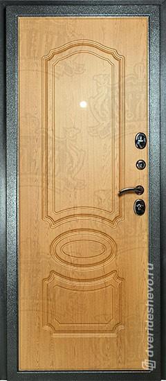 Входная дверь «Дива МД 03» серебро