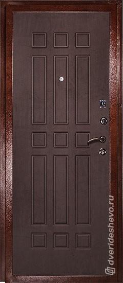 Входная дверь «Дива МД 04» медь венге