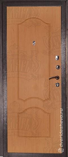 Входная дверь «Дива МД 04» серебро