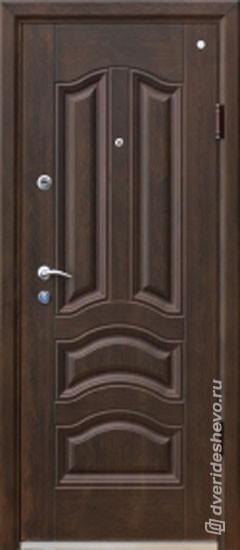 Входная стальная дверь Техно Голден Грин