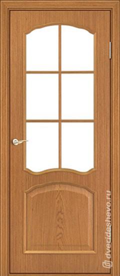 Межкомнатная дверь «Ретро тип 104 ДФП ДО ОР»