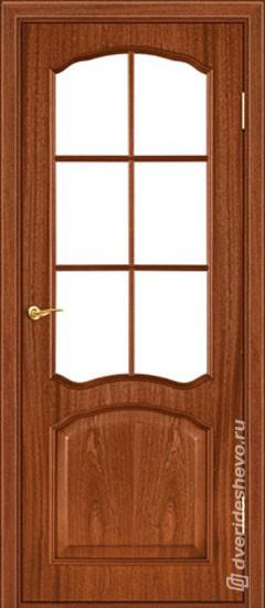 Межкомнатная дверь «Ретро тип 104 ДФП ДО КД»
