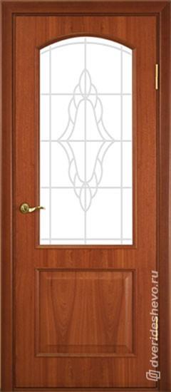 Межкомнатная дверь «Ретро тип 114 ДФО ДО КД»