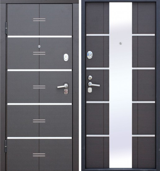 Входная стальная дверь AltaTech Венге