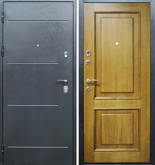 Входная стальная дверь Колизей Шервуд дуб