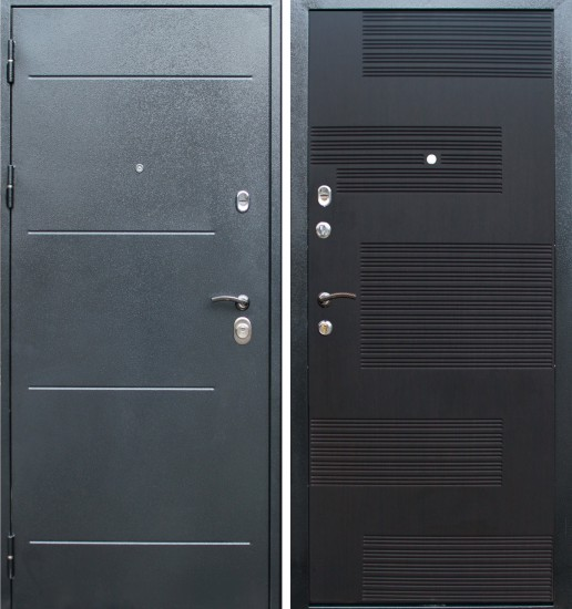 Входная стальная дверь Колизей (венге ПН-4)
