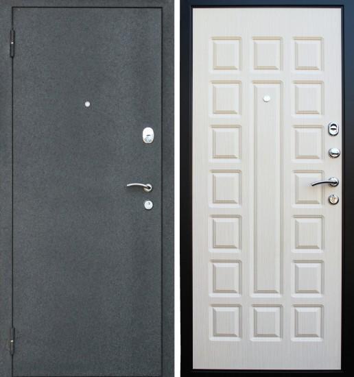 Входная стальная дверь Прима2 Беленый дуб
