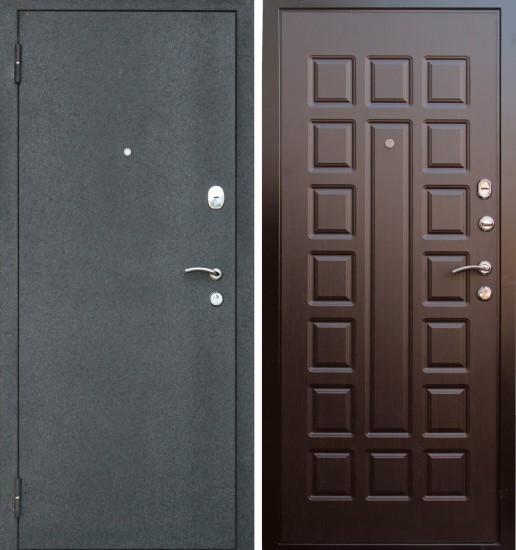 двери входные металлические черный крокодил