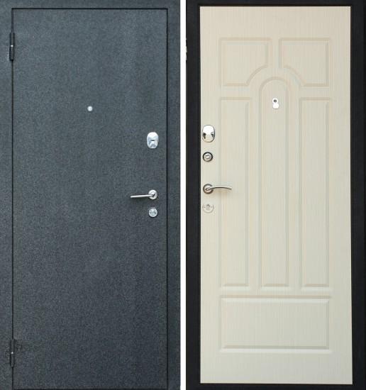 Входная стальная дверь Прима 3 Беленый дуб