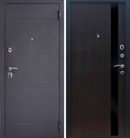Входная стальная дверь Прима Aleco Венге