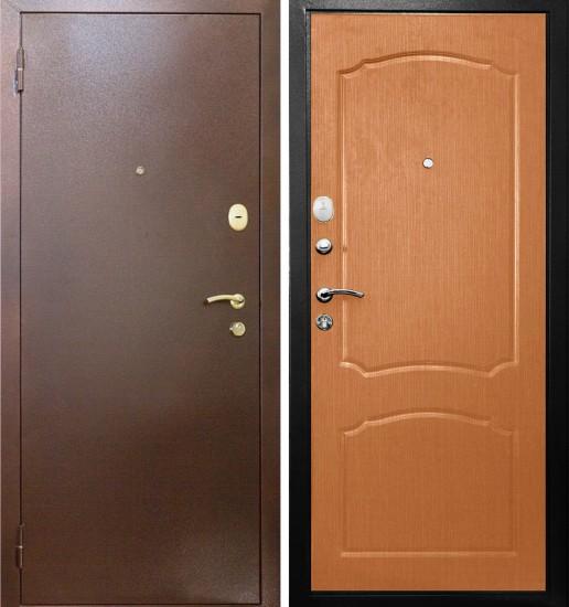 Входная стальная дверь Прима Классик Миланский орех