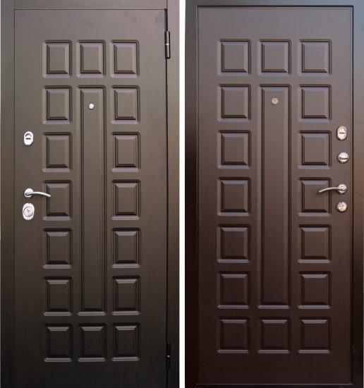 Входная стальная дверь Прима Люкс Венге